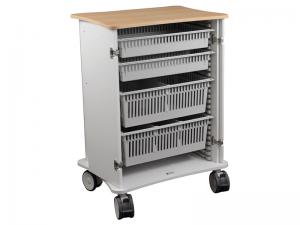 Behandlingsvagn, 9 moduler, ISO backar, CareVan V20