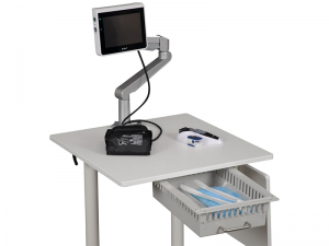 FlexVan mobilt arbetsbord höj och sänk