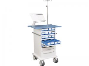 Läkemdelsvagn V10 lådutdrag