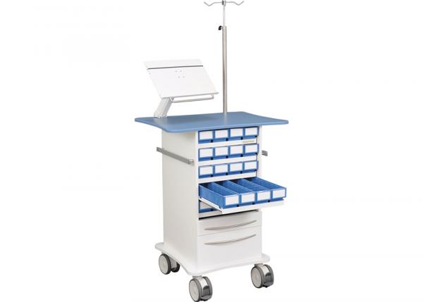 Läkemedelsvagn med lådutdrag, CareVan V10