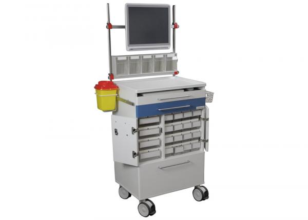 Läkemedelsvagn V20 med skärm