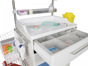 Anestesivagn eller behandlingsvagn CareVan V20