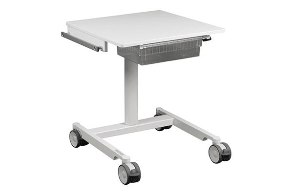 Läkemedelsvagn komplett höj&sänk, ISO låda