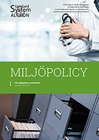 Miljöpolicy & Ambitioner - Framsida PDF